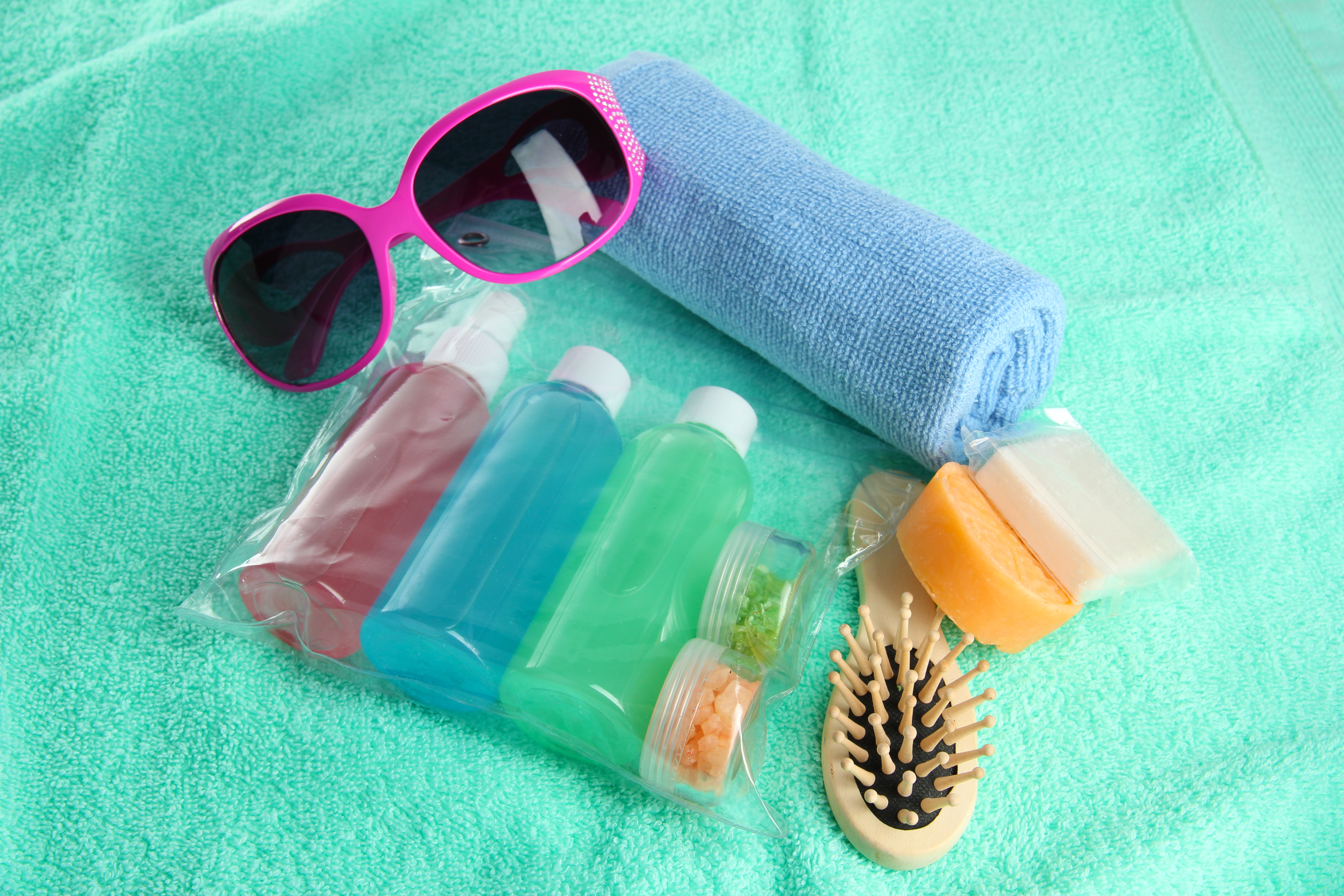 size of toiletry bag