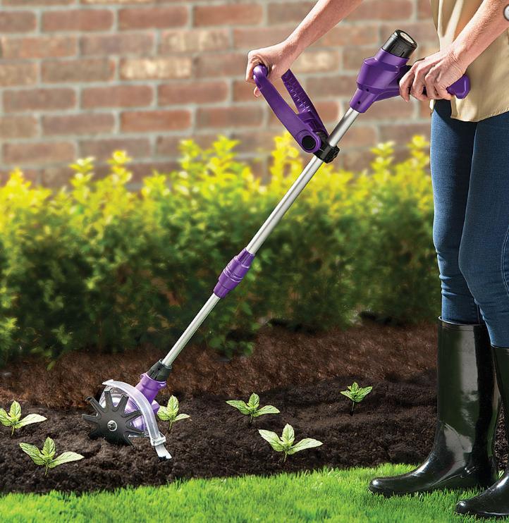 spring gardening 10 cordless power weeder
