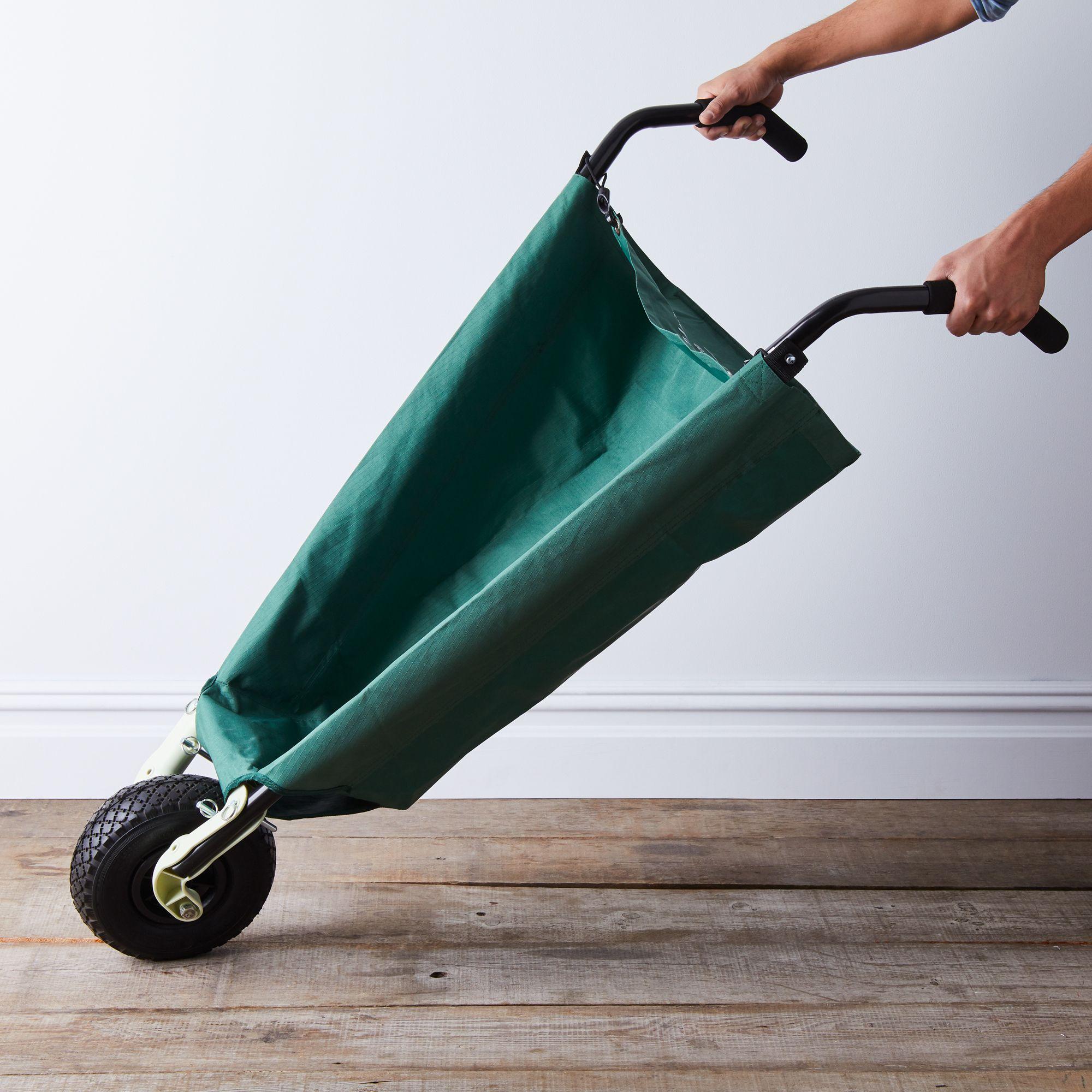 spring gardening 12 collapsible wheelbarrow