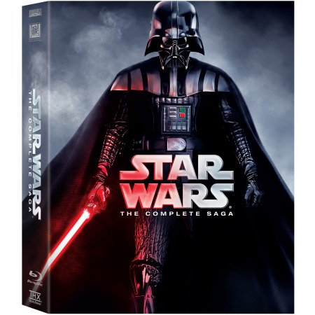 star wars complete saga (blu-ray)