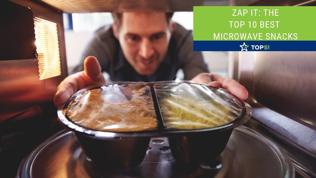 the top 10 best microwave snacks