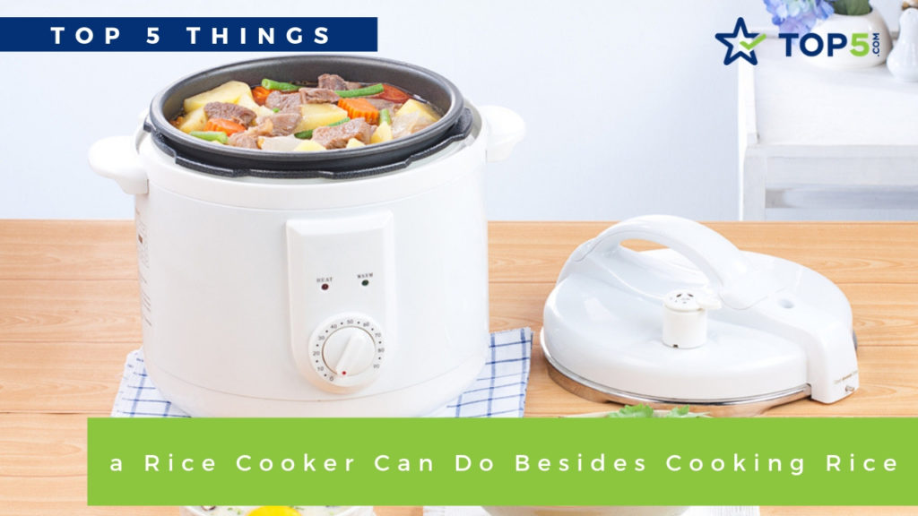 top 5 things a rice cooker can do besides cooking rice
