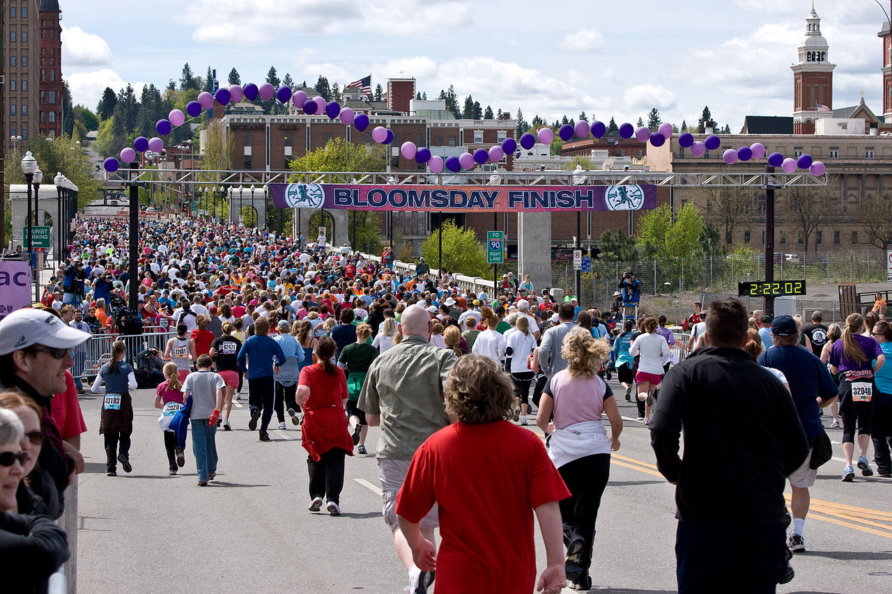 top running events in the us bloomsday race
