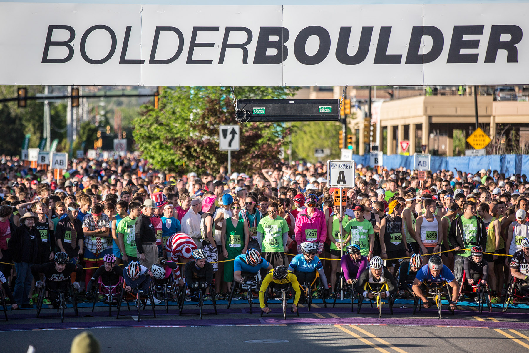top running events in the us bolder boulder