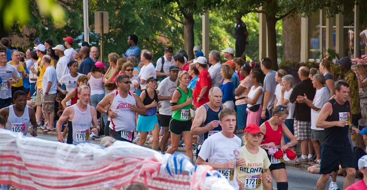top running events in the us peachtree road race1
