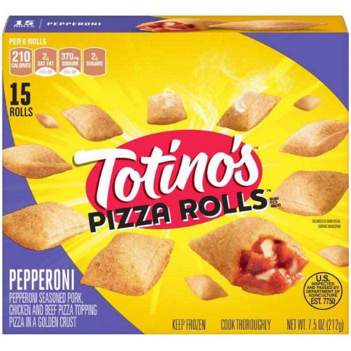 totinos pizza rolls snacks