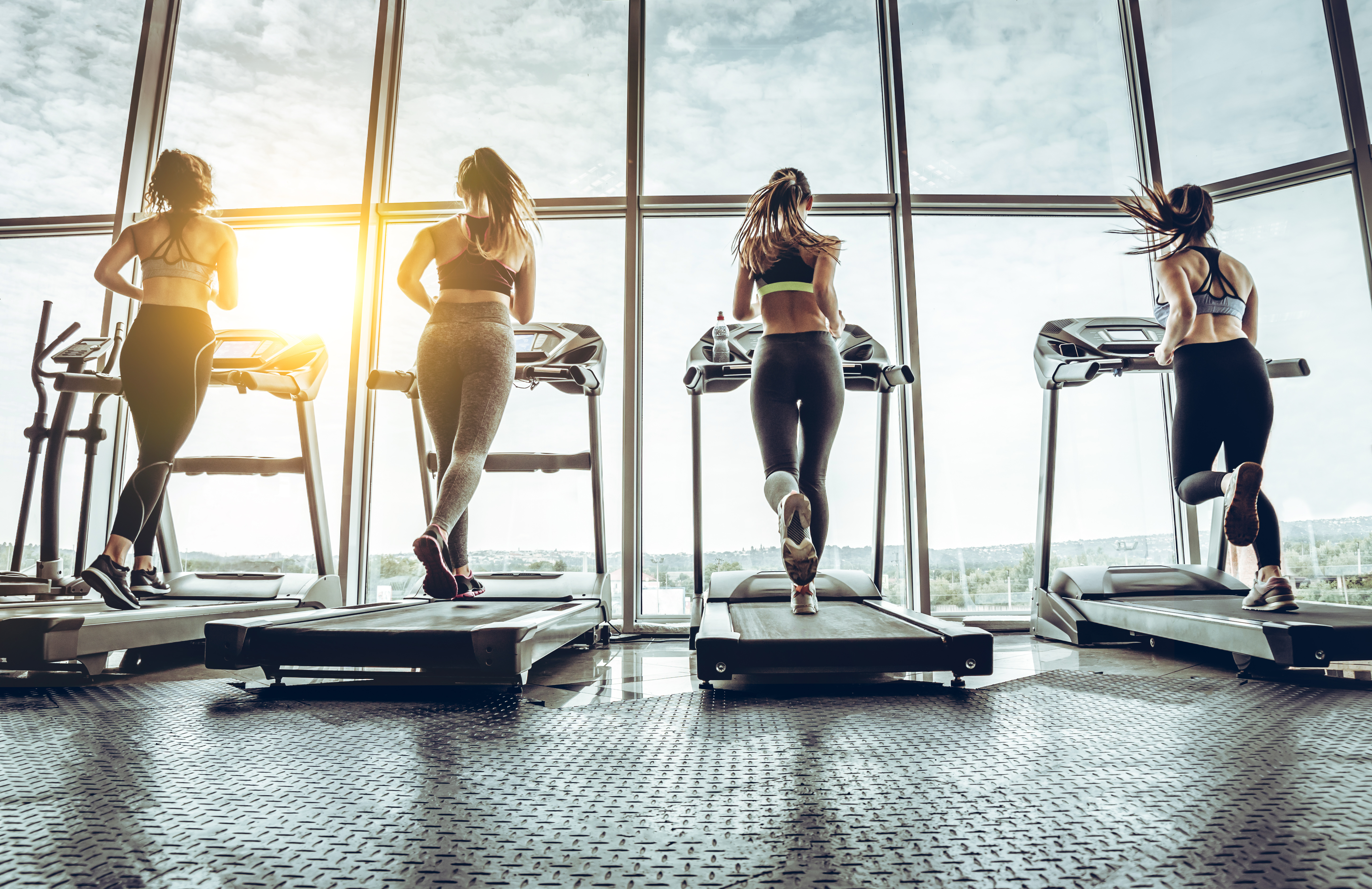 Treadmills work your lower body