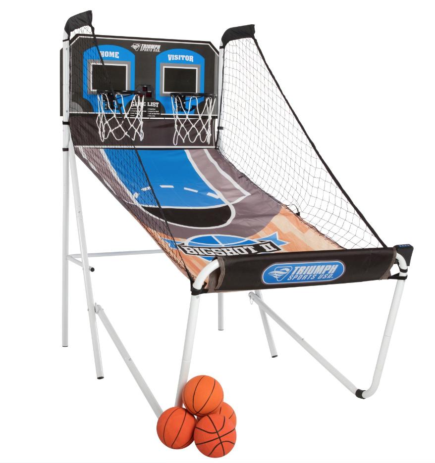 triumph sports usa big shot ii double shootout basketball game
