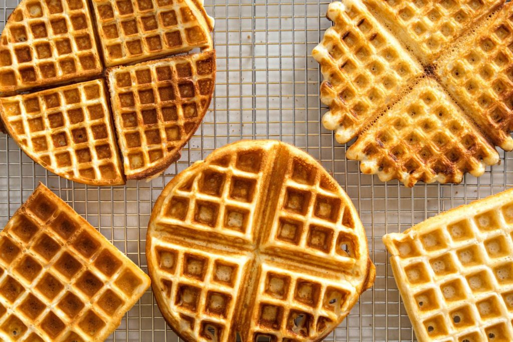 waffle shapes and sizes
