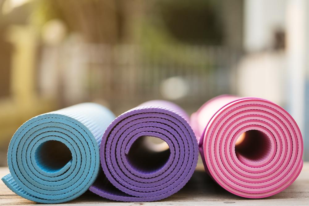 yoga mat materials