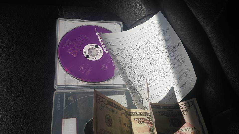 a surprise inside a DVD case