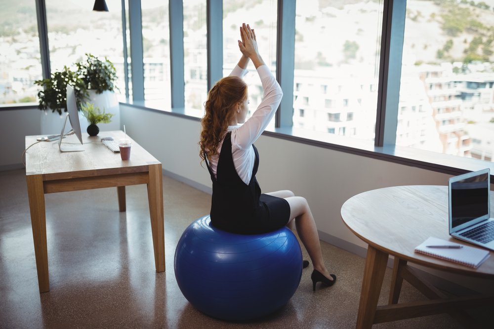 beginner mistakes to avoid when using exercise ball sitting for too long