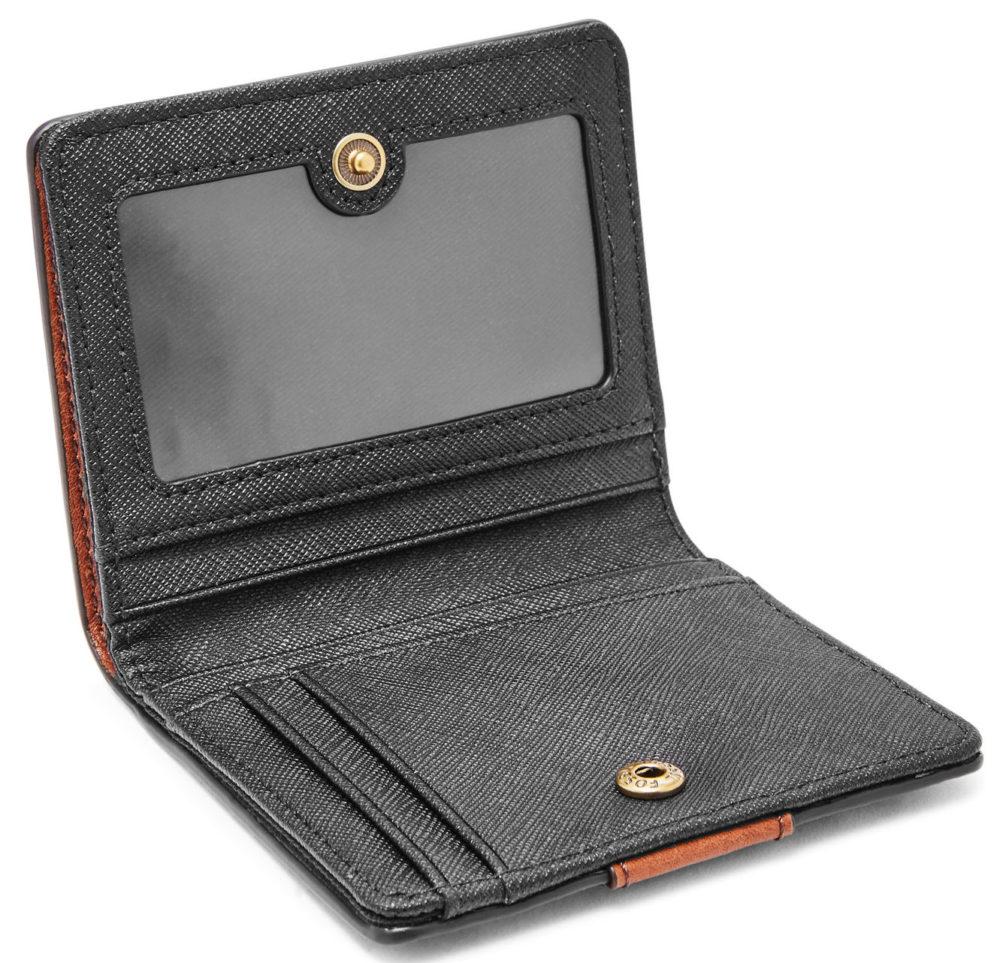 fossil emma rfid wallet