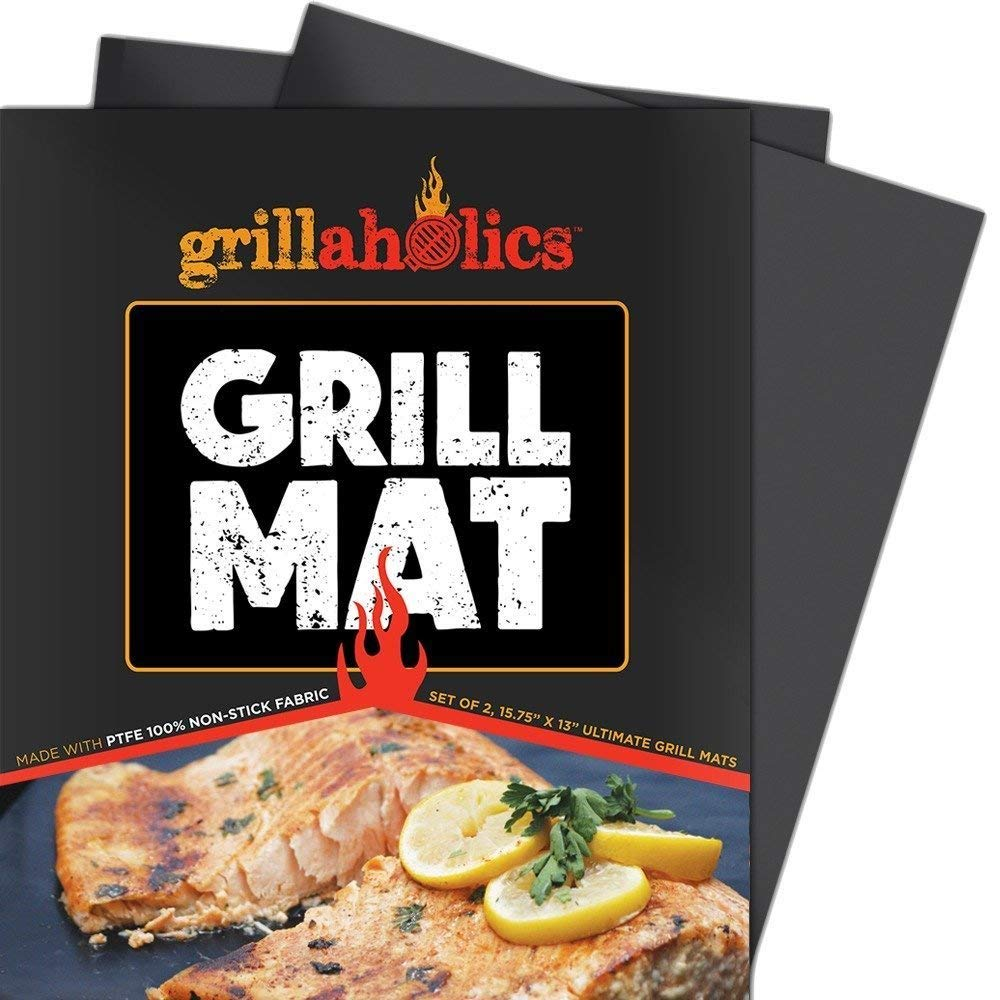 grillaholics grill mat heavy duty bbq grilling tools