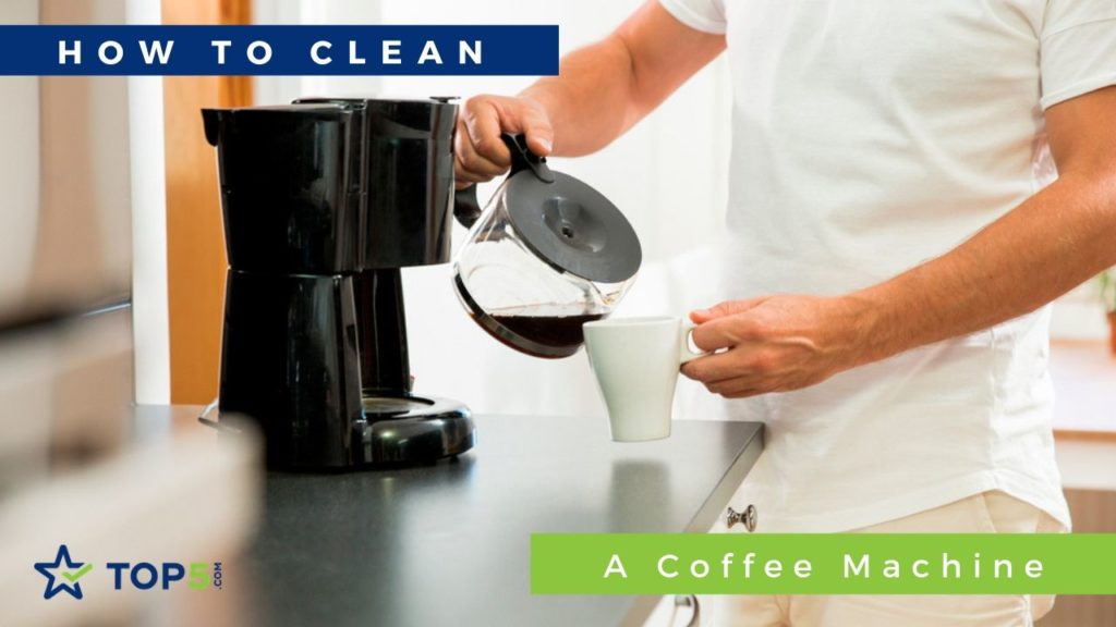 how to clean a coffee machine