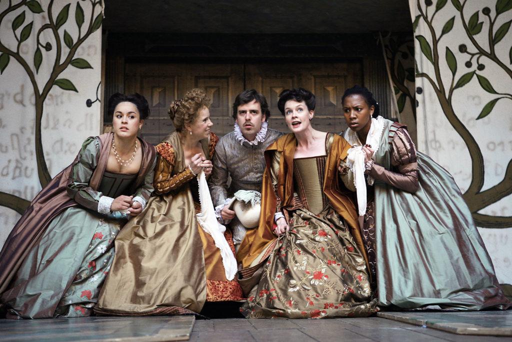 Love's labour's lost, shakespeare's globe