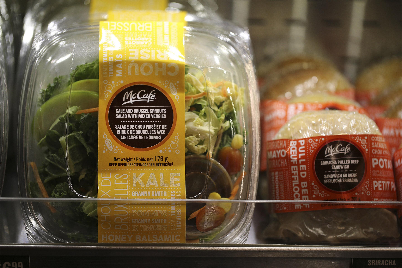 McDonald's salads and coffee complaints