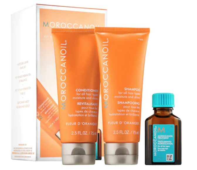 moisture & shine travel kit