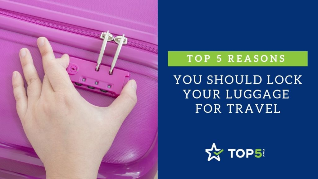 reasons you should lock your luggage for travel