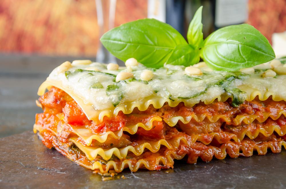 skinny veggie slow cooker lasagna