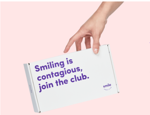 Box from smile club direct