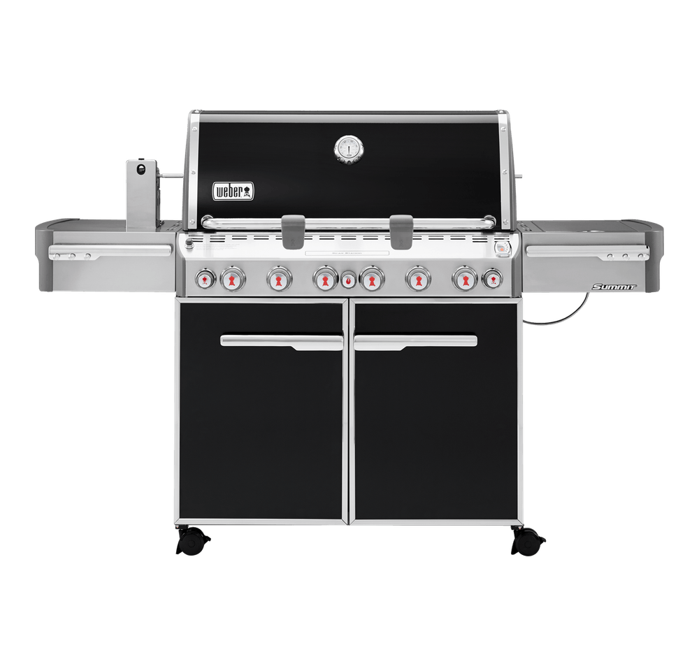 weber® summit e 670 gas grill