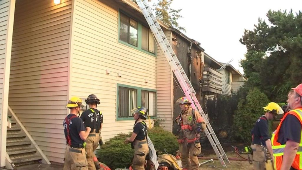 Firefighters Let Home Burn To The Ground Because Of What They Found Inside