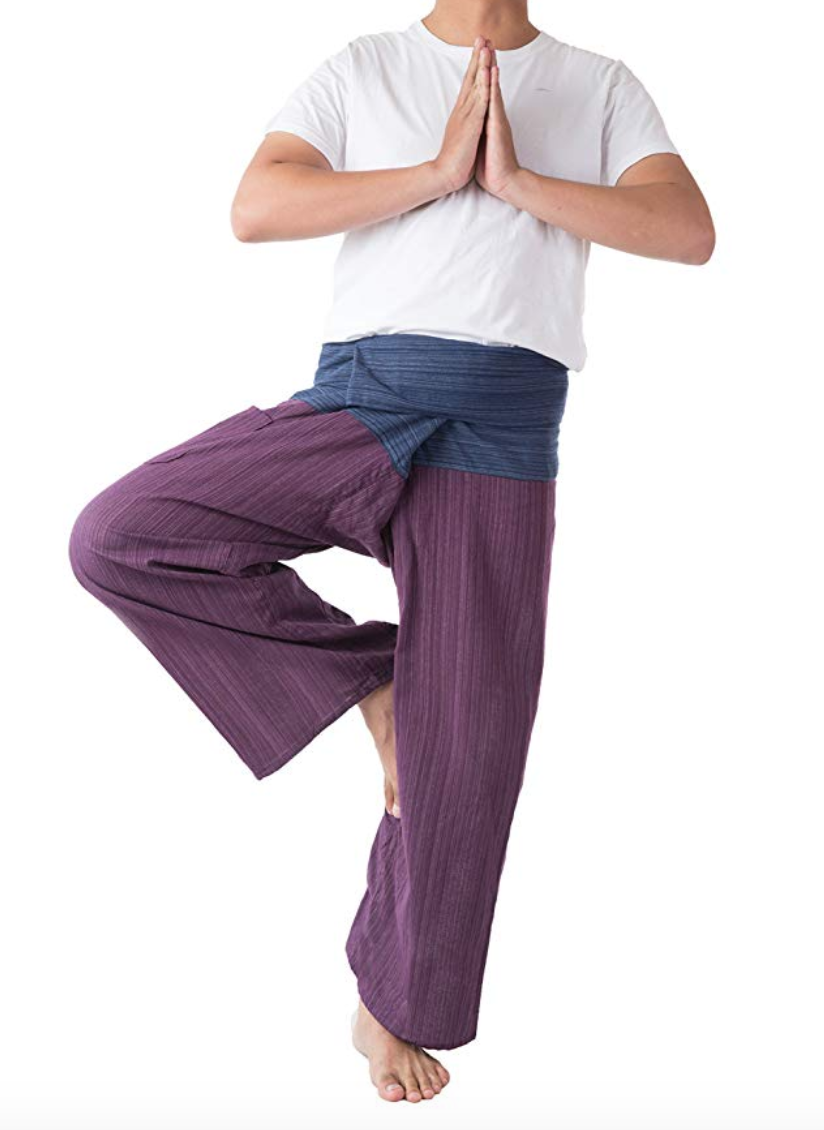 2 tone thai fisherman pants
