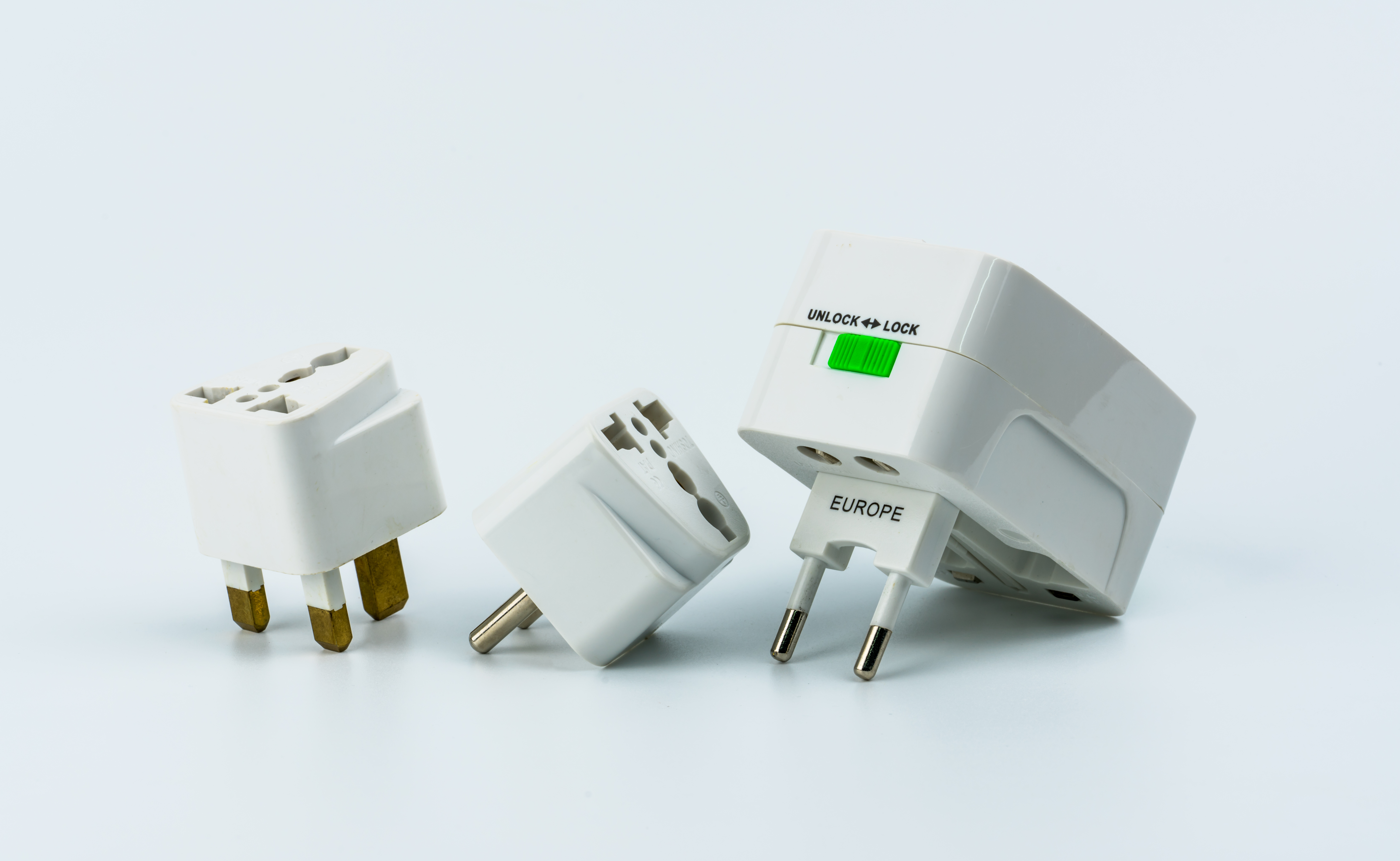 Variety of adapters