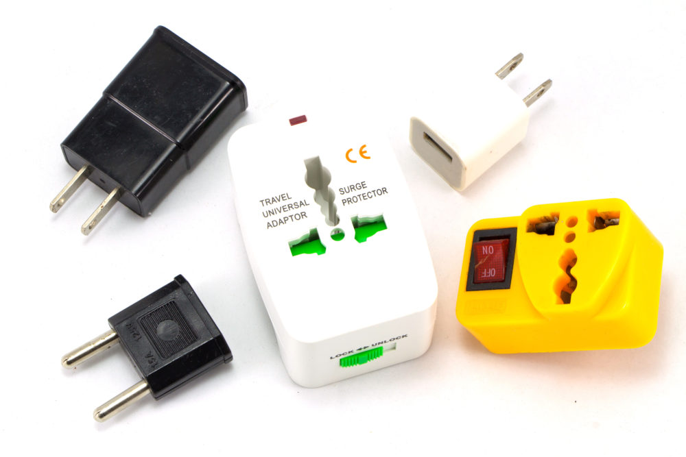 Different adapters and converters