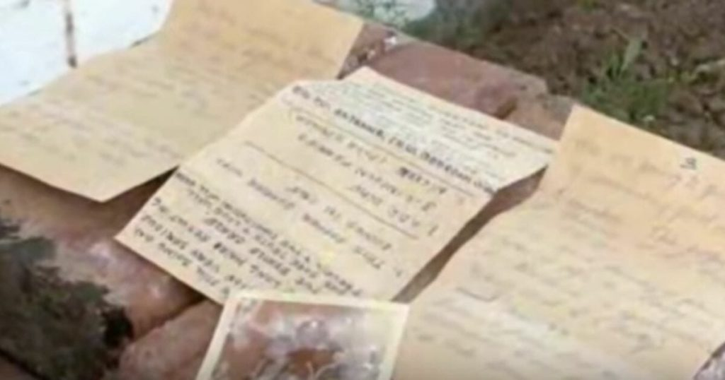 Contractor Finds Letters Hidden Inside 1950s Home