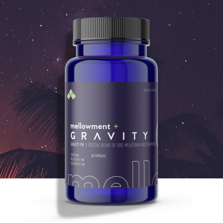 Gravity PM Is the CBD OTC Sleep Aid with melatonin.