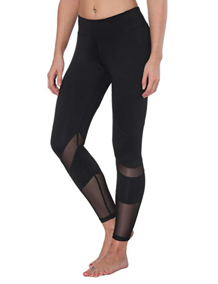 feivo tummy control leggings