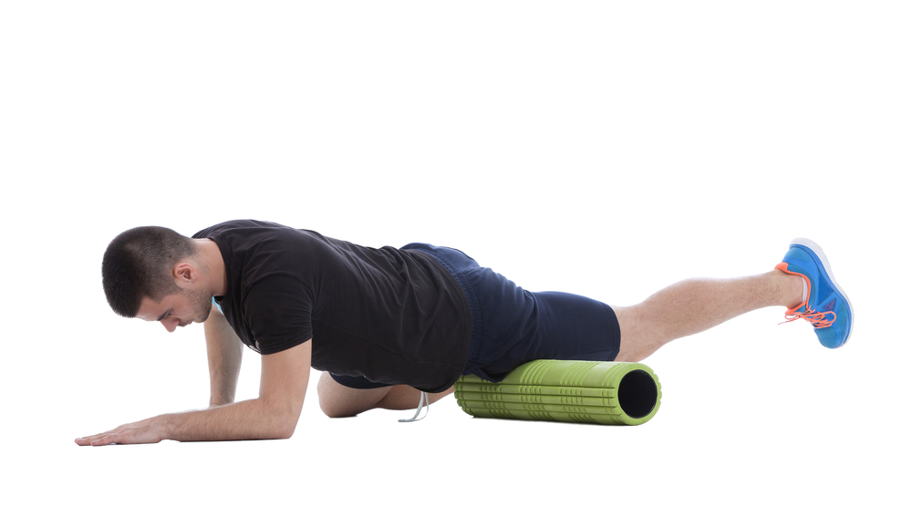 hip flexors foam roller