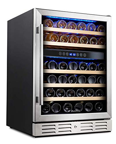 kalamera 24 inch wine cooler: freestanding cooler