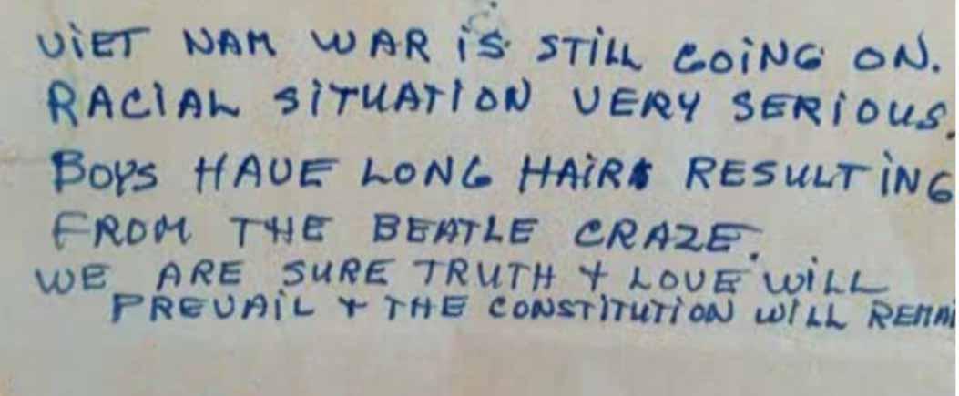 letter vietnmam war