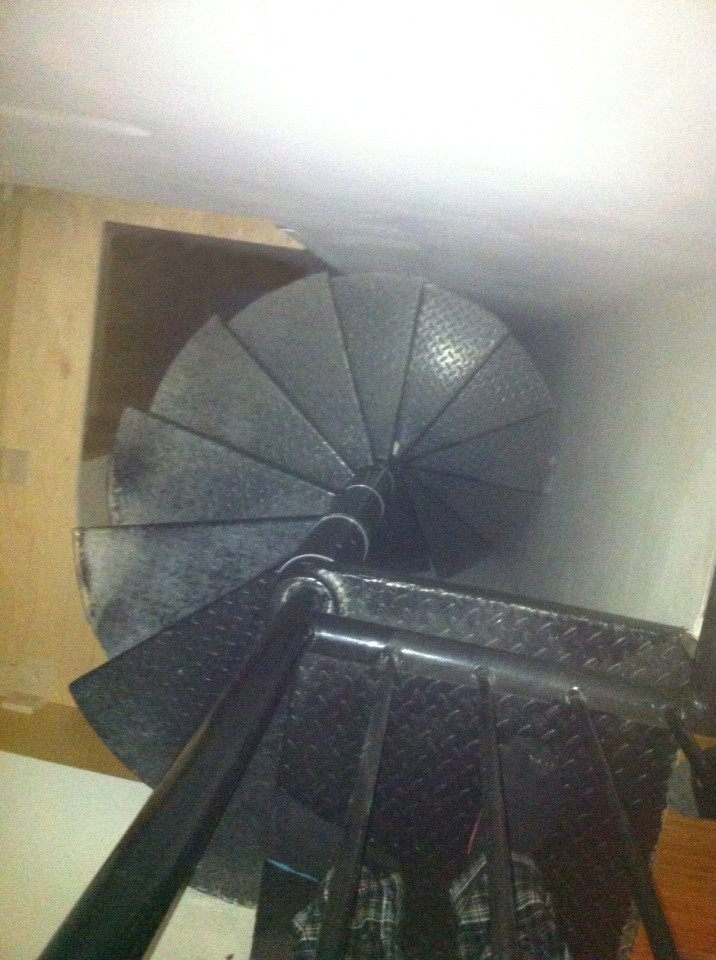 staircase inside home