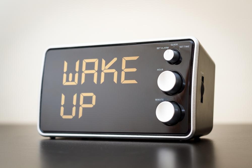 wake up clock