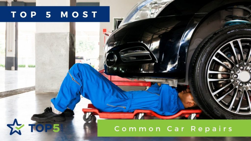 5 most common car repairs