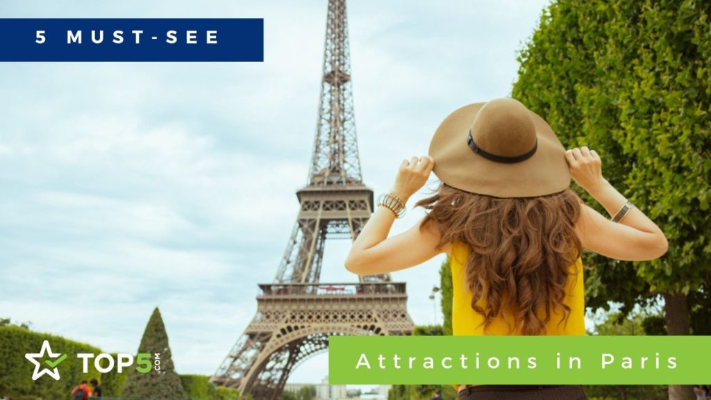 "5 attractions that must have been seen, embody the quintessence of the Parisian experience. ""Width ="" 1024 ""height ="" 576"