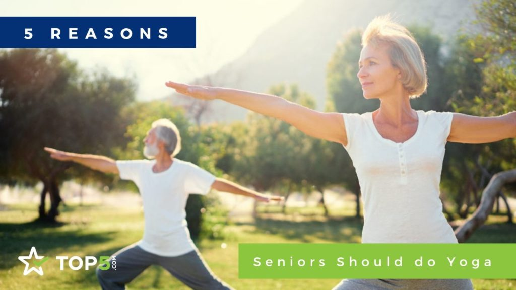 5 reasons seniors should do yoga