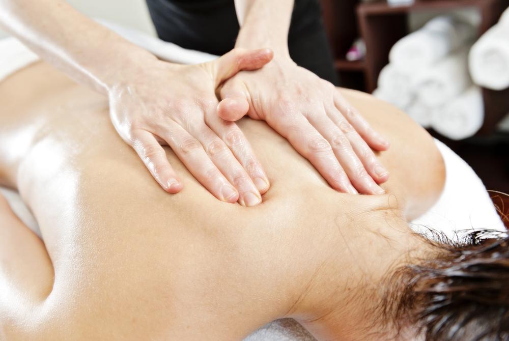 back massage swedish technique
