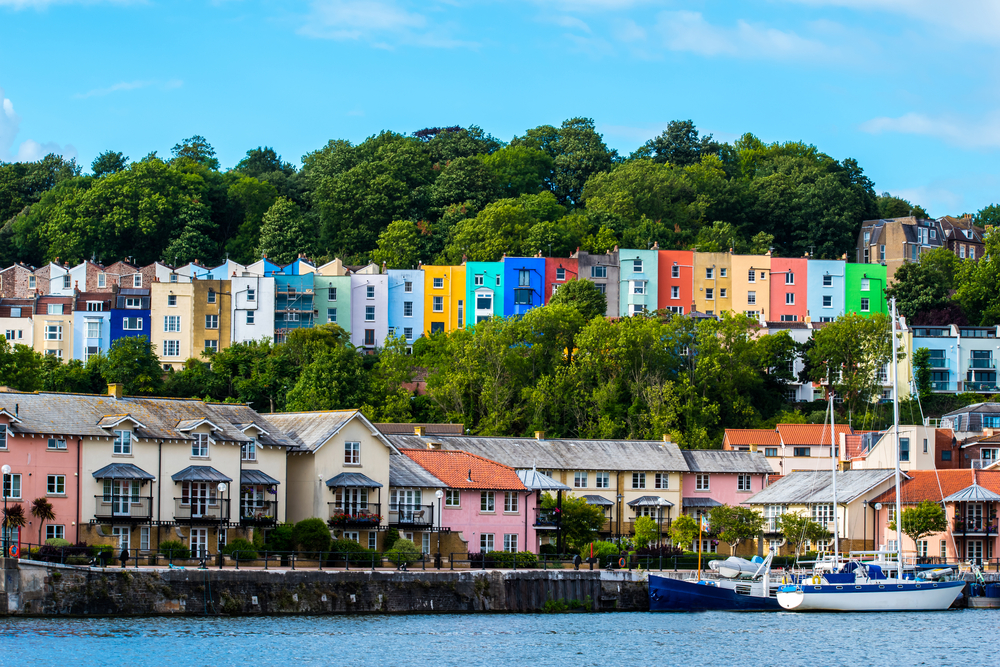 Bristol Cityscape, natural colours