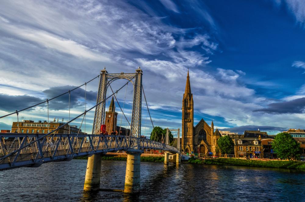 Inverness,scotland,uk