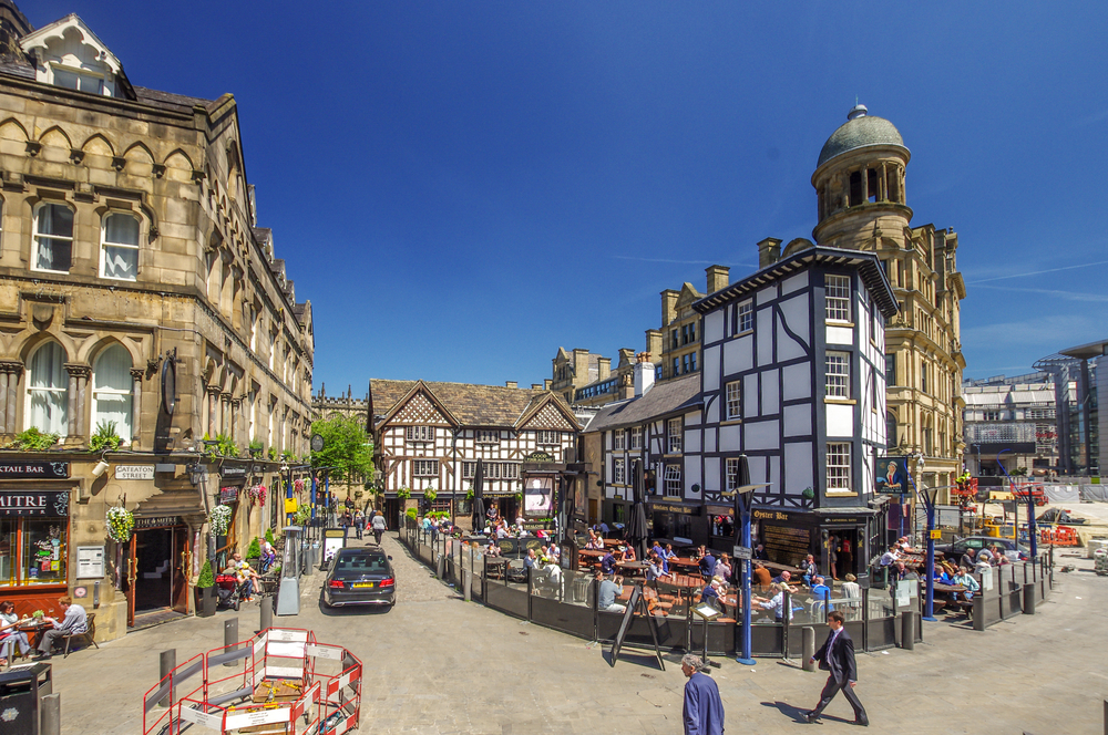 shambles square is a square in manchester, england,