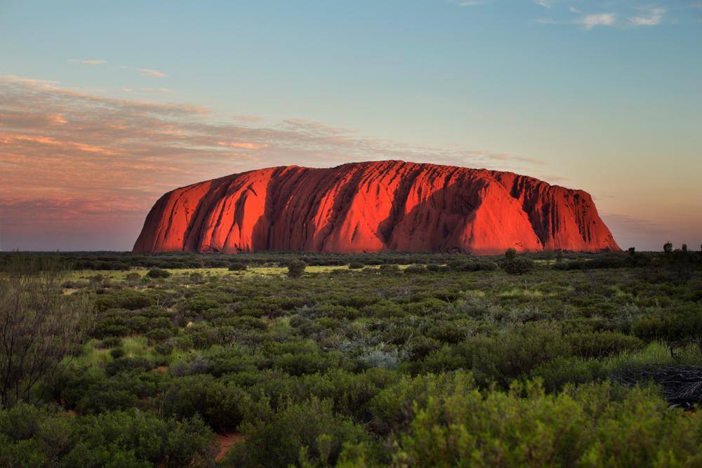 uluru australia unesco