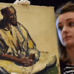 Family Realizes Long-Forgotten Portrait Was Painted By Renowned Nigerian Artist