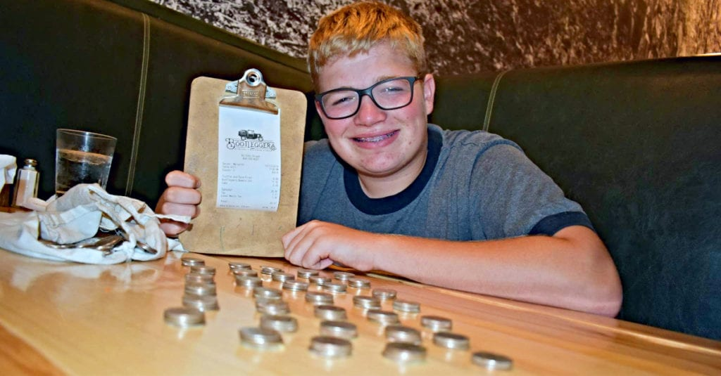 Waitress Mocks Boy For Paying In Quarters, But He Gets The Last Laugh