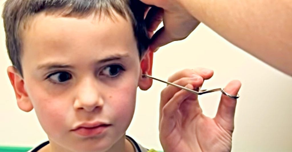 Boy Gets Pencil Stuck In Ear, But Doctor Pulls Out Something Much Worse