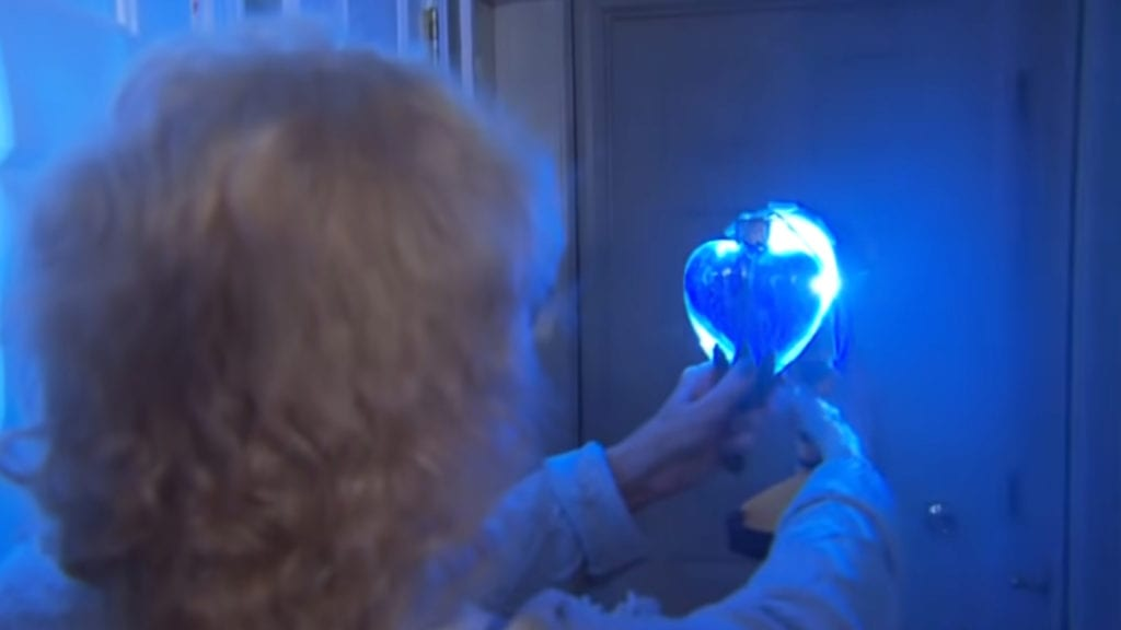 Mom Buys Ornament At Thrift Store For $2, Flashlight Shows Powder Hidden Inside